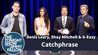 Catchphrase with Denis Leary, Shay Mitchell and G-Eazy by : The Tonight Show Starring Jimmy Fallon