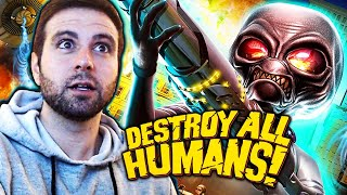 SOY UN ALIENIGENA! (Destroy All Humans) #1