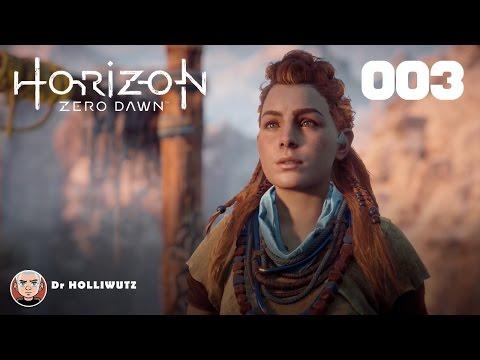 Horizon Zero Dawn #003 - Die Spitze des Speers [PS4] Let's play Horizon Zero Dawn