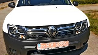 Renault Duster(Рено Дастер) 2015 1.5 DCI 4x4 6 speed тест драйв