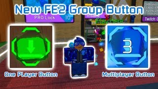 Roblox | Flood Escape 2 | New Multiplayer Group Button!