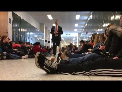 Walk Out 2018 Newaygo Middle School