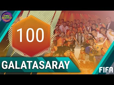 100 RATED FULL GALATASARAY SQUAD! FIFA MOBILE 18