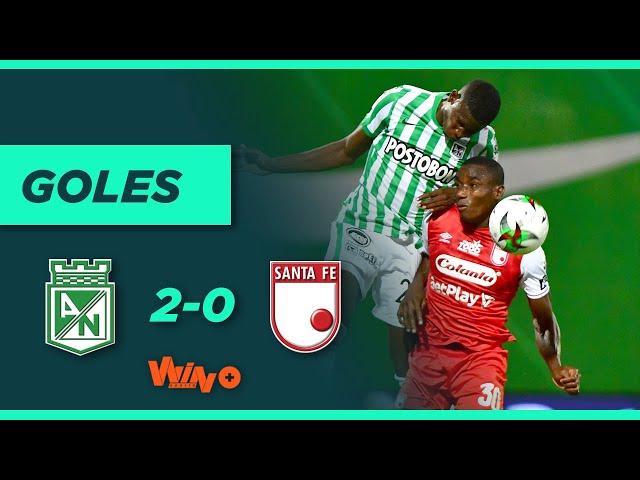Nacional vs. Santa Fe (2-0) | Liga BetPlay Dimayor 2021 - Fecha 1