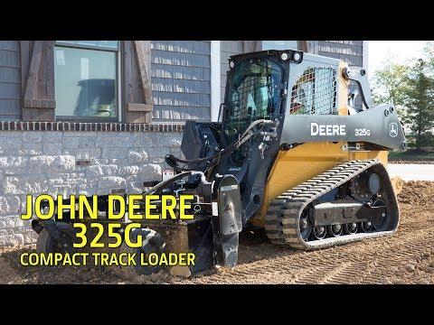 John Deere 325G Compact Track Loader (Superior Performance) - YouTube