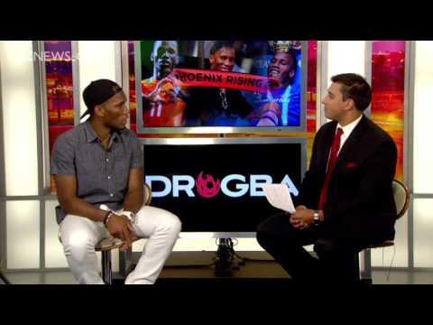 Cameron Cox interviews Didier Drogba