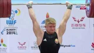 2014 World Weightlifting Championships 85kg Men (English)