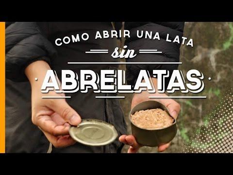 CÓMO ABRIR UNA LATA SIN ABRELATAS - TIPS DE VIAJES MOCHILEROS