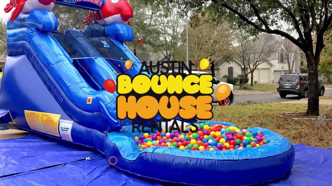 austin bounce house rentals risk free rain guarantee party