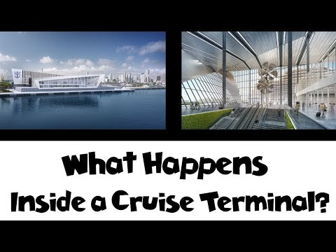 What Happens Inside a Cruise Terminal on Boarding Day? [Cruise Tips]