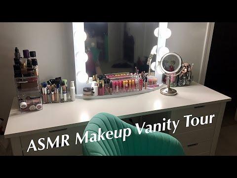 ASMR Makeup Vanity Tour