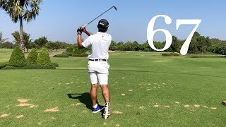 quick round of golf at Kabin Buri Sport Club (shot 67)