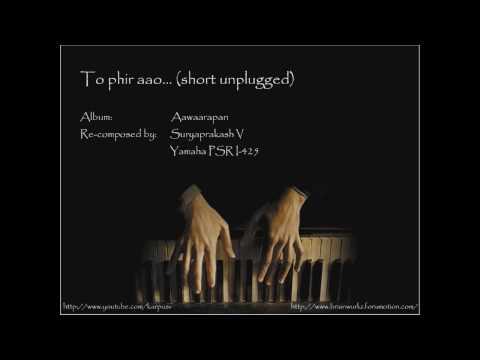 To phir aao (piano)