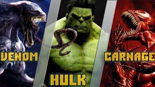 Халк VS Веном и Карнаж