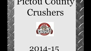 Pictou County Minor Hockey Crushers 2014/15