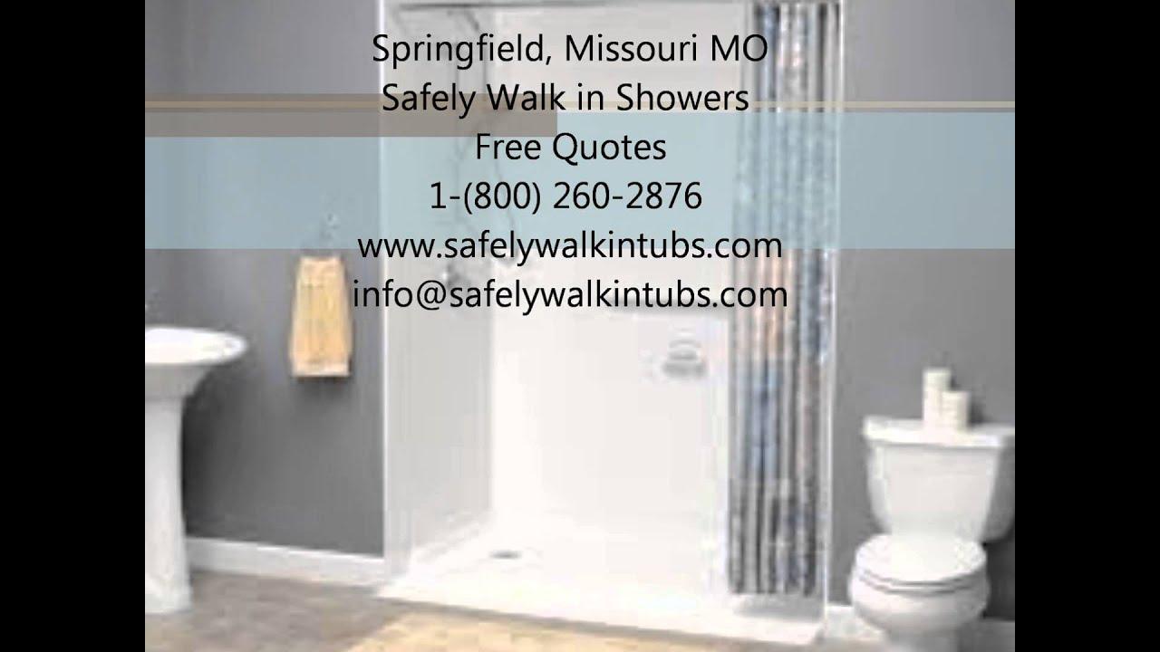 Springfield Missouri Walk In Shower Sales & Installation Call For ...