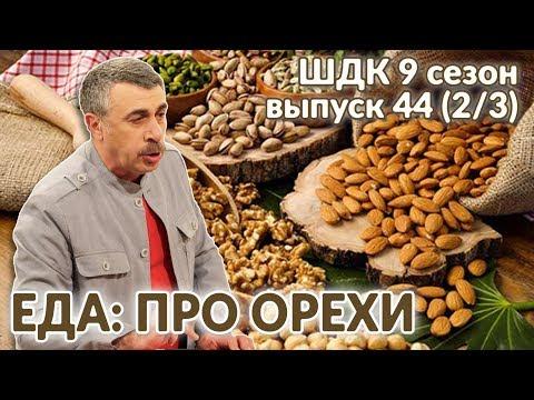 Еда: про орехи - Доктор Комаровский | комаровского | комаровский | потреблени | суточная | аллергия | доктора | польза | орехов | доктор | школа