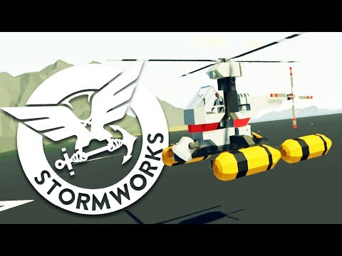 Crafting BOATS and HELICOPTERS in the Blitztopian COASTGUARD SIMULATOR! - Stormworks Gameplay