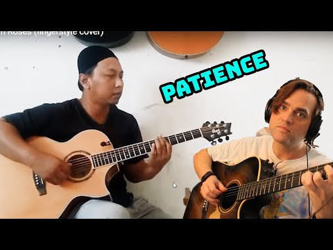 Patience - Guns N Roses (fingerstyle Guitar Cover) Reaction // Alip Ba Ta // Guitarist Reacts