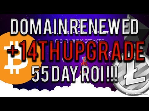 Hashflare: Domain Renewed & 14 th upgrade - how much do I make now?