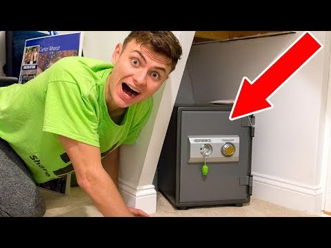 I FOUND A SECRET HIDDEN SAFE!! (SUPER RARE FIND)