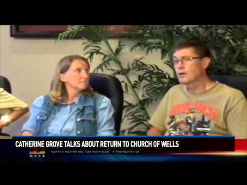 Catherine Grove talks about return to Church of Wells