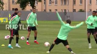 Russia  Portugal high on victory in training session ahead of New Zealand match