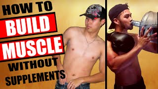 The Best 100% Natural Supplements For Skinny Guys & Hardgainers To Build Muscle