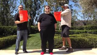 Guillermo del Toro Accepts the ALS Ice Bucket Challenge