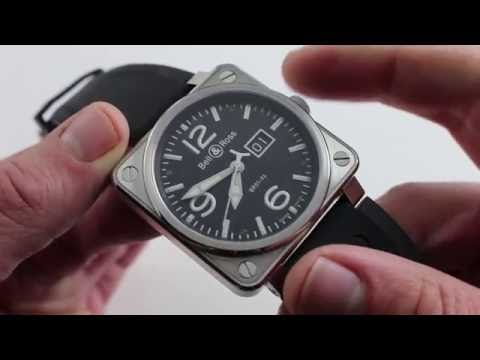 Pre-Owned Bell & Ross Instrument BR01-96-S Luxury Watch Review