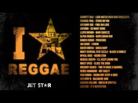 90's Old School Reggae Mix - Beres Hammond, Frankie Paul, Sizzla - I Love Reggae | Jet Star Music