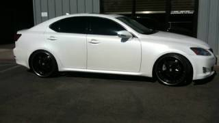 "Stormtrooper Lexus IS250 Lowered - Road Magnet 2"" Drop Springs Installed"