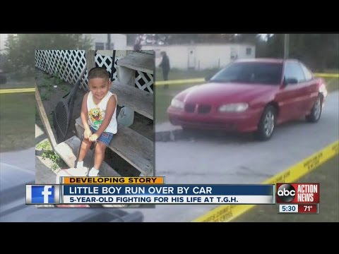 Ft. Meade boy run over by car