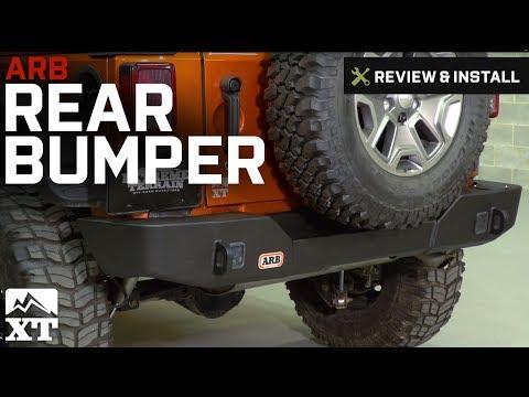 Jeep Wrangler ARB Rear Bumper (2007-2017 JK) Review & Install