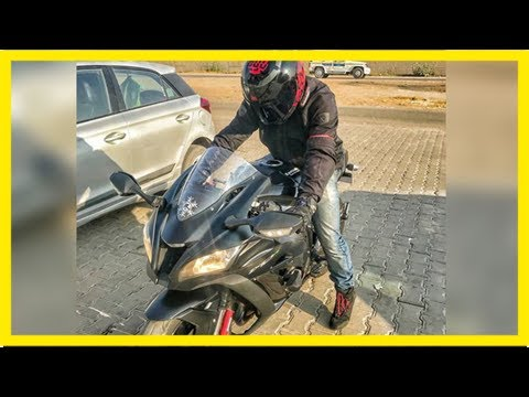 Man riding rs 22 lakh superbike dies after high speed crash in jaipur, couldn't remove helmet