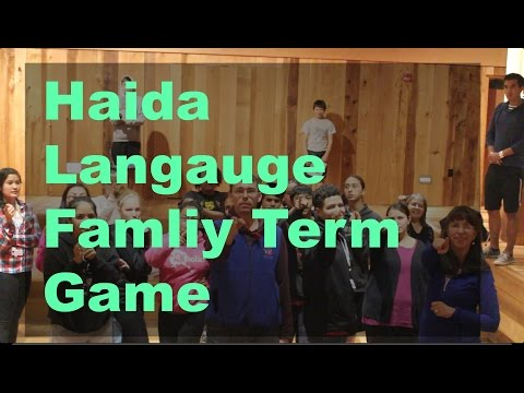 Haida Language Family Terms Game