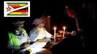 Counting underway after Zimbabwe polls, turnout put at 75%.