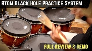 "24"" Black Hole BD Mesh Head Practice Pad - 80% Lower Volume video"