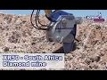 Xcentric Ripper XR50, South Africa, Diamond mine