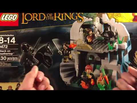 Lego Lord Of The Rings - Attack On Weathertop 9472 (ретро-обзор)