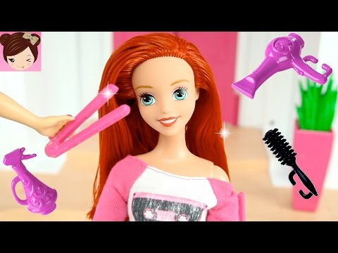 Thumbnail: Mermaid Ariel Teen daughter Gets a Hair Make Over with Frozen Kids - Doll Series Royal High Ep5