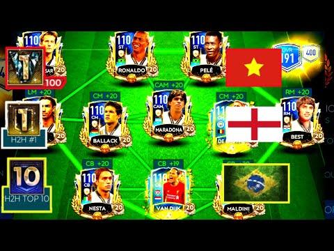 TOP 3 ĐỘI HÌNH MẠNH NHẤT TRONG FIFA MOBILE 20 SEASON 4 - VIỆT NAM LIỆU CÓ GÓP MẶT?