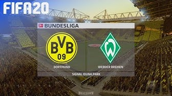 FIFA 20 - Borussia Dortmund vs. Werder Bremen @ Signal Iduna Park
