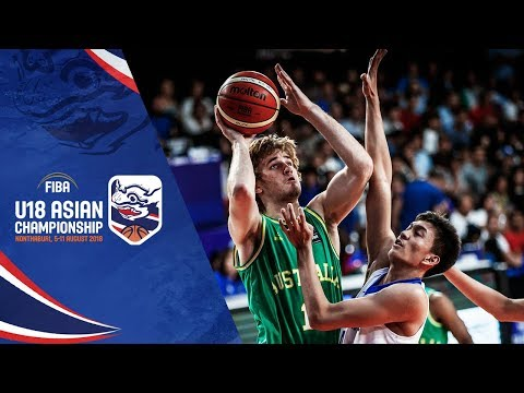 Philippines v Australia - Semi-Final - Highlights - FIBA U18 Asian Championship 2018