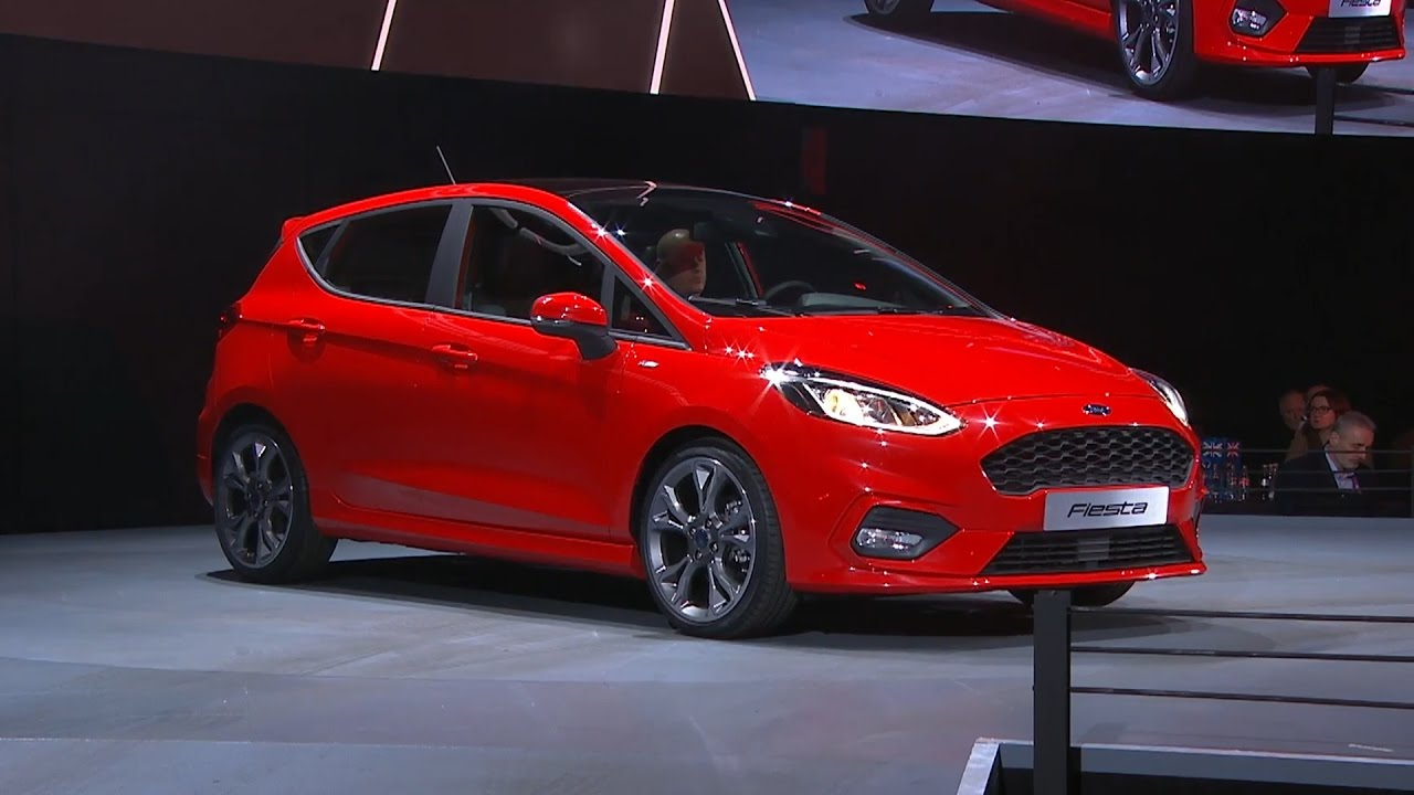 Fiesta St 0 60 >> 2017 Ford Fiesta revealed at the Go Further Event in ...