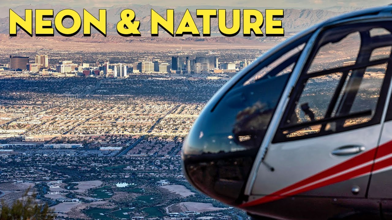 Las Vegas Helicopter Landing Experience | Neon & Nature by Maverick Helicopters