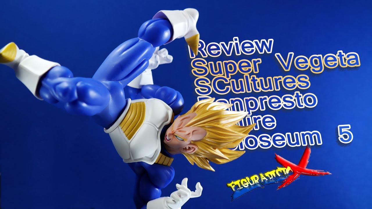 Download Review Super Vegeta SCultures Zokei Tenkaichi Budokai 5 Banpresto Craneking Analisis Español
