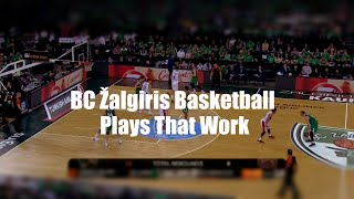 BC Žalgiris EuroLeague Basketball Plays That Work