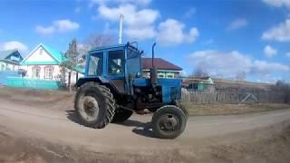Срочный ремонт трактора МТЗ(Замена сцепления и ремонт тормозов)