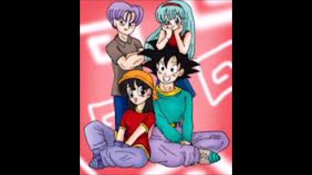 Goku X Milk Vegeta X Bulma Gohan X Videl Goten X Bra Trunks X Pan